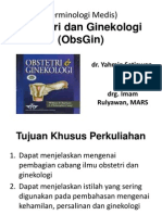Obstetri Dan Ginekologi