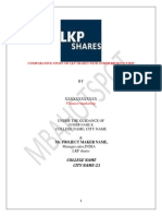 Project Report on Finance Lkp Shares