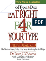 58940308 Eat Right 4 Your Type