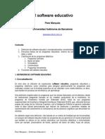 Pere Marques El Software Educativo