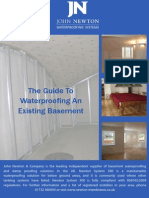 GUIDE Waterproofing an Existing Basement 8May2013