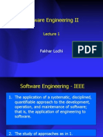 Software engineering and Project Management