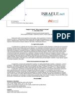 Programma Israele 1-8 Dic 13