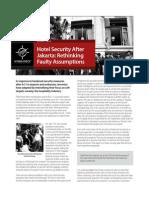ExpertTalk Hotel Security After Jakarta