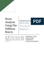 Matlab Code for 3D Truss | Stiffness | Truss