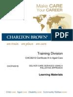 chcpa301b v2 deliver care services using a palliative approach