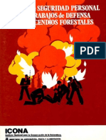 Manual Seguridad Personal Trabajos Defensa Incendios