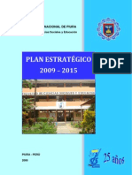 Plan Estratégico FCCSSED 2009-2015