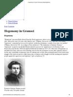» Hegemony in Gramsci Postcolonial Studies @ Emory