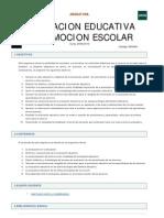 Evaluacion Educ y Promocion Escolar