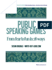 Public Speaking Games Extract