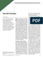 The NET Paradox
