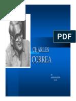 Charles Correa - His Works