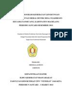 Evaluasi Program Kesehatan Lingkungan