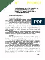 MP 036- 2004 Metodologie Calcul Sisteme Protectie Seismica Pasiva