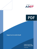 amf - Rapport sur le Comité d'audit