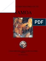 Peace Corps Samoa Welcome Book     April 2012(June 2013 CCD Updated)       wswb491