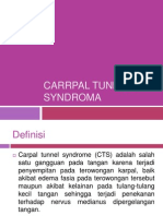 Carrpal Tunnel Syndroma RESPONSI