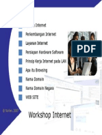 Workshop Internet