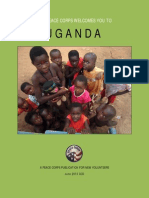 Peace Corps Uganda Welcome Book  |  June 2013 CCD        UGWB617