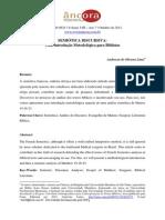 Anderson Oliveira - Semiótica discursiva