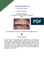 D José Amigo y Pellícer - Roma e o Evangelho