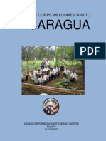Peace Corps Nicaragua Welcome Book  |  May 2013(July 2013 Updated CCR)      NIWB524