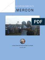 Peace Corps Cameroon Welcome Book  |  June 2013 CCD           Cm Wb 694