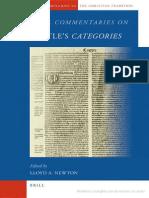 Lloyd a. Newton Medieval Commentaries on Aristotle