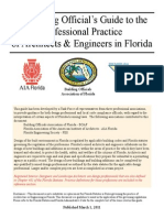Building Officials Guide to Design Professional Practice