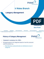 Category Management Presentation by Dave Porter