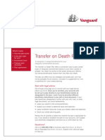 Vanguard Transfer on Death Form