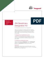 Vanguard IRA Beneficiary Transfer Form