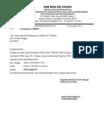Surat Peminjaman Tempat PKMU