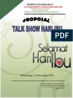 Proposal Hari Ibu Ft 2011