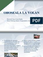 Bucur Ioana Claudia OBOSEALA LA VOLAN Power Point