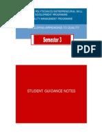 Student Guidance Note Sem 3 Eng