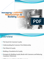 Customer Relationship and Building Loyalty(2)