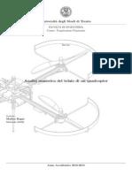 Analisi Numerica Del Telaio Di Un Quadcopter
