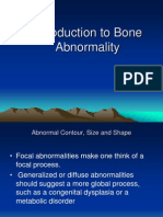Introduction to Bone Abnormality