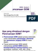 Handout 3 Perencanaan SDM