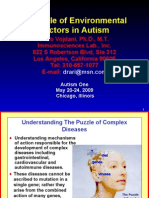 The Role of Environmental Factors in Autism