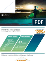 Qualcomm Extending the Benefits of Lte Advanced to Unlicensed Spectrum November 2013
