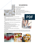 How to Make Nata de Coco