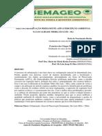 ÁREA DE PRESERVAÇÃO PERMANENTE (APP) E PERCEPÇÃO AMBIENTAL NA LOCALIDADE TIBIRI, SÃO LUÍS – MA