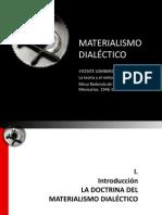 Principios Del Materialismo Dialectico