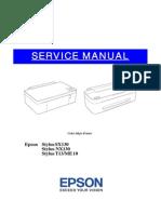 Service Manual Epson Sx130 Sx125