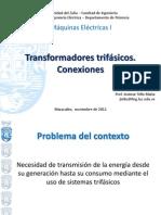 1.Transformador trif-¦ásico.Conexiones