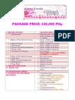 package price 230k