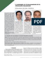 Web semántica y ontologías en el procesamiento de la